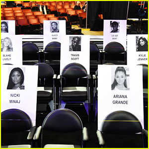 MTV VMAs 2018 Seating Chart - See Where Your Favorite Celebs Are Sitting