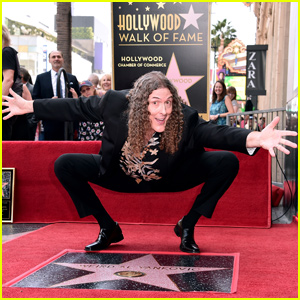 'Weird Al' Yankovic Unveils Star on Hollywood Walk of Fame!