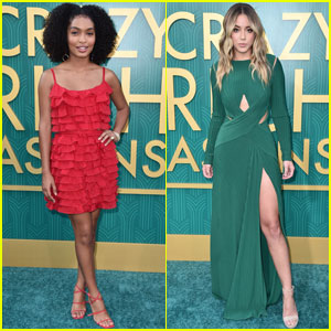 Yara Shahidi & Chloe Bennet Step Out For 'Crazy Rich Asians' Premiere