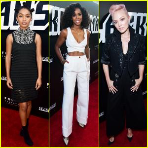 Yara Shahidi, Kelly Rowland & Pom Klementieff Support 'BlacKkKlansman' Premiere!