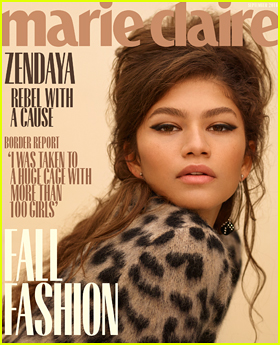 Zendaya Embraces Her 'Olivia Pope Gut' on 'Marie Claire' September 2018 Issue!