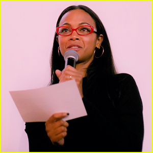Zoe Saldana Attends BESE Premiere Launch Event in Hollywood!