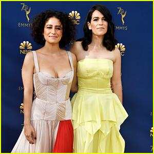 Broad City's Abbi Jacobson & Ilana Glazer Hit the Emmys 2018 Together!