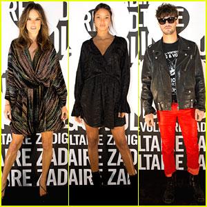 Alessandra Ambrosio, Lais Ribeiro, & Cameron Dallas Attend Zadig & Voltaire Fashion Show