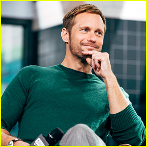 Alexander Skarsgard Talks About Playing a Man of Few Words in 'Hold The Dark' - Watch Now!