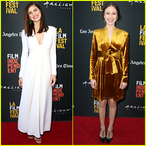 Alexandra Daddario & Taissa Farmiga Screen Their New Movie at LA Film Festival!