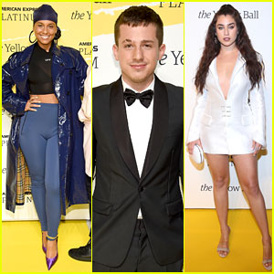 Alicia Keys, Charlie Puth, & Lauren Jauregui Step Out for the Yellow Ball in NYC