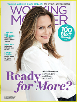Alicia Silverstone Says She Wants Another Child!