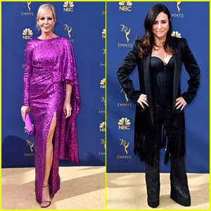 Nominees Allison Janney & Pamela Adlon Arrive at Emmys 2018