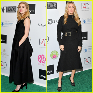 Amber Heard & Ellie Goulding Get Honored at Fashion 4 Development's First Ladies Luncheon 2018!