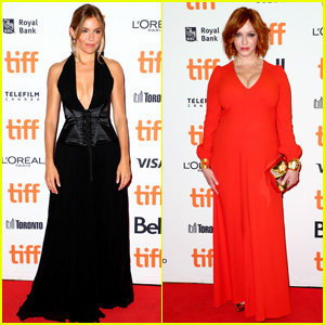 Sienna Miller & Christina Hendricks Attend 'American Woman' Premiere at Toronto Film Festival!