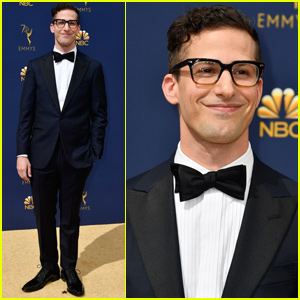 Andy Samberg Suits Up For Emmy Awards 2018!