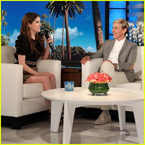 Anna Kendrick Shows Off Her Rap Skills & Takes Over Ellen DeGeneres' Twitter - Watch!