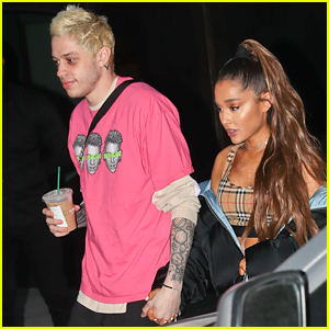 Ariana Grande & Pete Davidson Hold Hands on Date Night!
