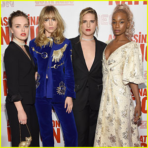 'Assassination Nation' Cast Teams Up for New York Screening