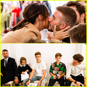Victoria Beckham's Family Supports Her at Her Fashion Show!