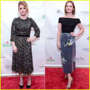 Anna Paquin & Holliday Grainger Attend the 'Tell It To The Bees' Premiere at Toronto Film Festival!
