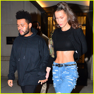 Bella Hadid & The Weeknd Couple Up For Date Night in NYC!