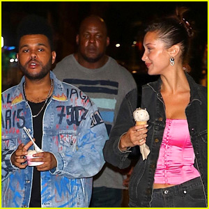 Bella Hadid & The Weeknd Take a NYFW Break for an Ice Cream Date!