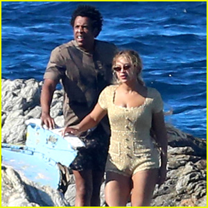 Beyonce & Jay Z Visit a Shipwreck During Her Birthday Trip