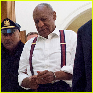 Bill Cosby Placed in Handcuffs as He Leaves Court Sentencing (Photos)