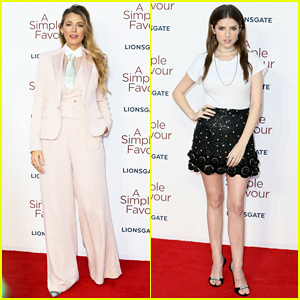 Blake Lively & Anna Kendrick Step Out for 'A Simple Favor' UK Premiere!