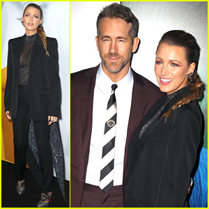 Blake Lively & Ryan Reynolds Couple Up at 'A Simple Favor' Premiere!
