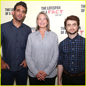 Bobby Cannavale, Cherry Jones, & Daniel Radcliffe Promote Broadway's 'Lifespan of a Fact' in NYC