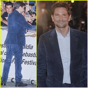 Bradley Cooper Arrives in Spain For San Sebastian Film Festival!
