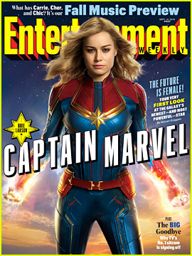 Brie Larson as 'Captain Marvel' - First Look at the Marvel Superhero!