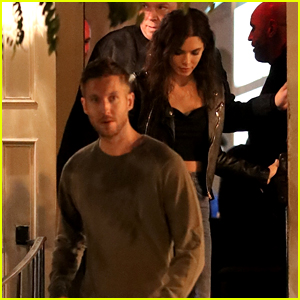 Calvin Harris & Girlfriend Aarika Wolf Have a Date Night in WeHo