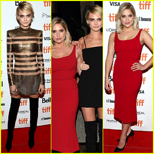 Cara Delevingne & Ashley Benson Attend 'Her Smell' Premiere at TIFF 2018!