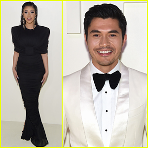 Cardi B Joins Henry Golding at Tom Ford NYFW Show!