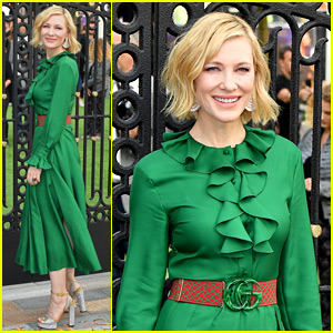 Cate Blanchett Looks So Chic at 'House With The Clock In Its Walls' World Premiere