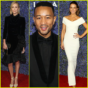 Charlize Theron, John Legend, & Kate Beckinsale Celebrate The Launch of New Shopping Center Palisades Village!