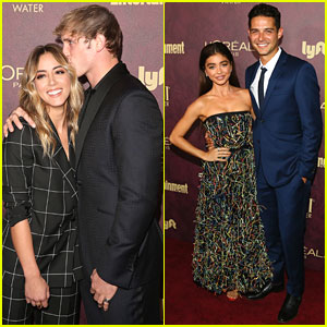 Chloe Bennet & Logan Paul Show Affection at EW's Pre-Emmys Party