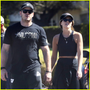 Chris Pratt & Katherine Schwarzenegger Start Their Day with a Workout