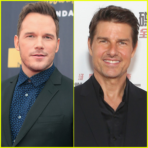 Chris Pratt Says One of His Career Goals Is Based on Tom Cruise!
