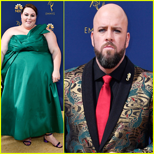 Chrissy Metz Joins 'This Is Us' Co-Star Chris Sullivan at Emmys 2018