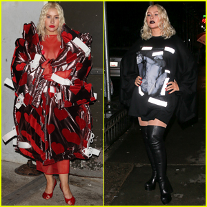 Christina Aguilera Does Surprise Performance with 'Drag Race' Stars During NYFW!