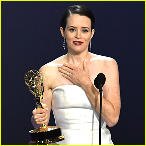 Claire Foy Dedicates Outstanding Lead Actress Win to New Cast of 'The Crown' at Emmys 2018 (VIDEO)