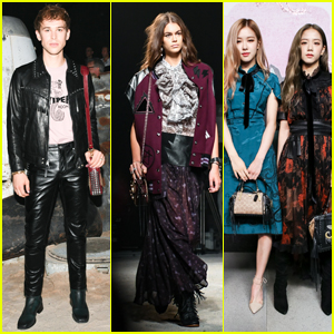 Tommy Dorfman, Kaia Gerber, BLACKPINK & More Attend Coach Show During NYFW 2018!