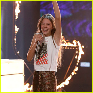 14-Year-Old Singer Courtney Hadwin Rocks Out to Tina Turner During 'AGT' Finals (Video)
