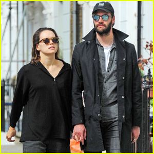 Daisy Ridley & Tom Bateman Couple Up For Afternoon Date in London