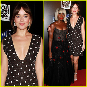Dakota Johnson Joins Cynthia Erivo at 'El Royale' NY Screening!