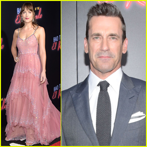 Dakota Johnson Joins Jon Hamm at 'Bad Times at the El Royale' Premiere!