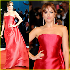 Dakota Johnson Looks Breathtaking at 'Suspiria' Red Carpet Premiere in Venice!