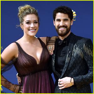 Darren Criss Brings Fiancee Mia Swier to Emmy Awards 2018!