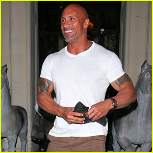 Dwayne Johnson Gives the Valet a $100 Tip in Beverly Hills!