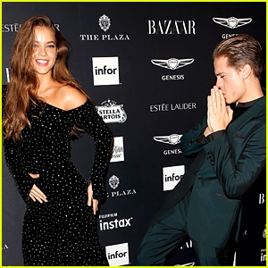 Dylan Sprouse & Barbara Palvin Show Off Adorable PDA at NYFW Party!
